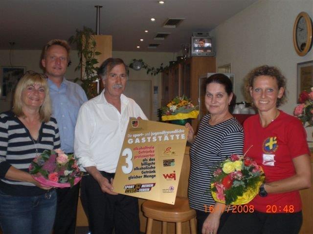 40 Jahre Vereinsheimwirt