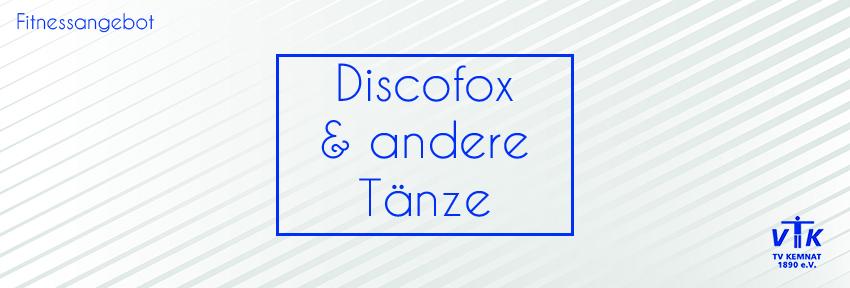 Discofox und andere Tänze