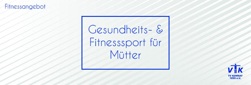 Gesundheits- und Fitnesssport für Mütter