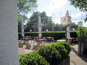 Vereinsheim Terrasse
